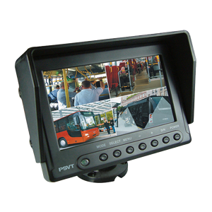 "PSVT 7"" Weatherproof quad monitor"