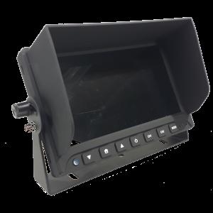 Monitor 7 inch split (2 camera's)