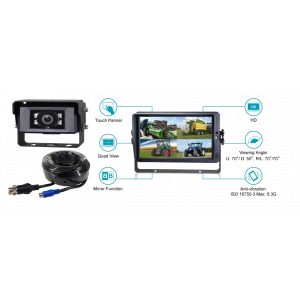"KSG AHD Cameraset Quad 7"" met 1 camera"