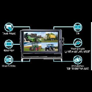 """KSG 10"""" monitor AHD (touchscreen)"""