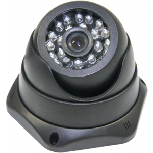 Camera met USB aansl. vlak montage zwart