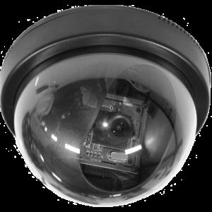 Camera met USB aansl.Dome vlak montage zwart