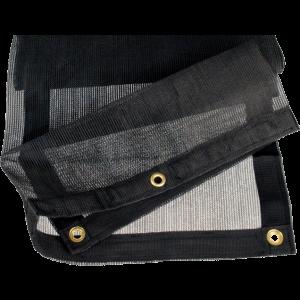 Aanhangergaasnet 350x250 cm zwart