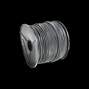 Aanhangernet los elastiek zwart 8mm
