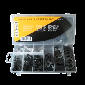 Assortiment E-clip 300 delig