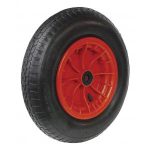 Kruiwagenwiel 4.00-8 2ply PVC velg naaldlager