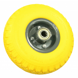 Lekvrij wiel voor steekwagen