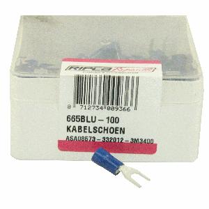 ds. Kabelschoenen 665 (100) haak 5 mm