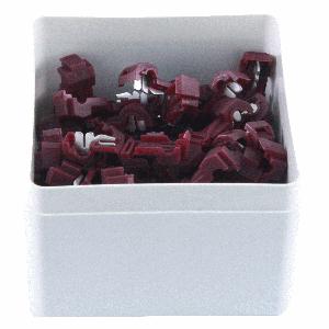 ds. Scotch block rood K951 (50)