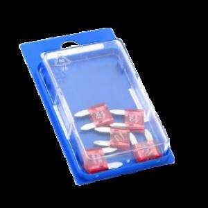 Steekzekering 10a (5) blister mini