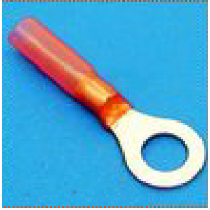 ds.kabelschoen krimp rood m8 oog (100)
