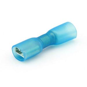 ds.kabelschoen krimp blauw 6.35x.08 (50)