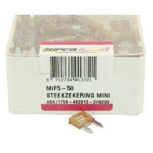 ds. Zekering steek mini 5amp (50)