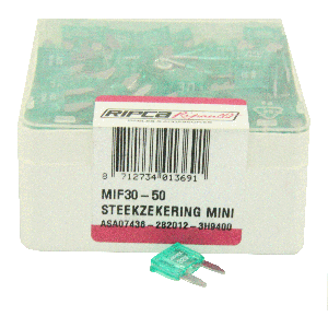 ds. Zekering steek mini 30amp (50)