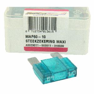 ds. Zekering steek maxi 60amp (10)