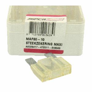 ds. Zekering steek maxi 80amp (10)