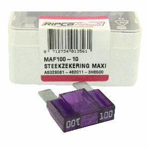 ds. Zekering steek maxi 100amp (10)