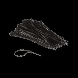Kabelstrip 300x7,8 zwart 100st