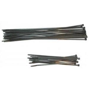 Kabelstrip 360x4,8 zwart 100st