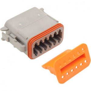 Deutsch connector female DT serie 12pins