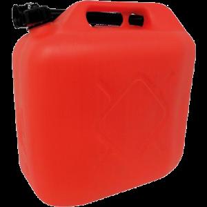Jerrycan 20ltr rood kunststof