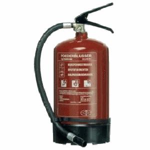 Brandblusser 6kg poeder abc nl + manometer