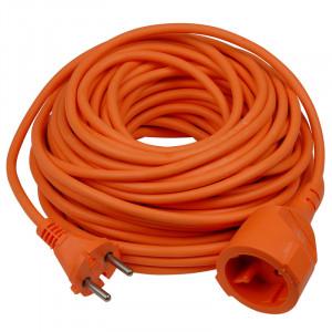 Verlengkabel oranje 20 mtr.