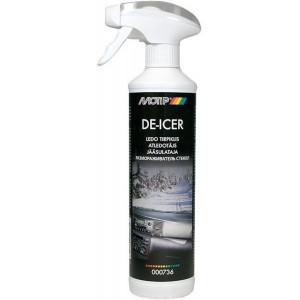 000736 Ruitontdooier De-Icer trigger 500 ml. Motip