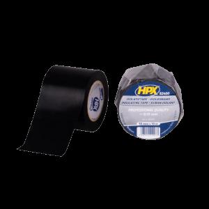 Isolatietape 5cm x 10 mtr. zwart