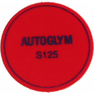Pad klitteband M125 wit medium Autoglym