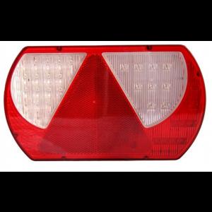 Achterlicht LED rechts met driehoek (2m kabel)