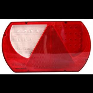 Achterlicht LED links met driehoek (2m kabel)