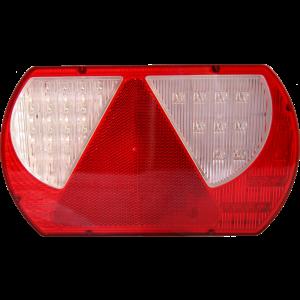 Achterlicht LED rechts met driehoek (connector)