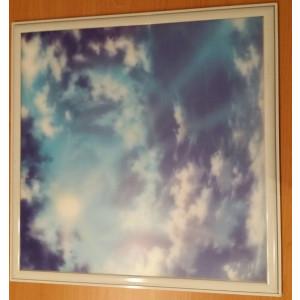 Folie voor led paneel 60x60 (wolken)