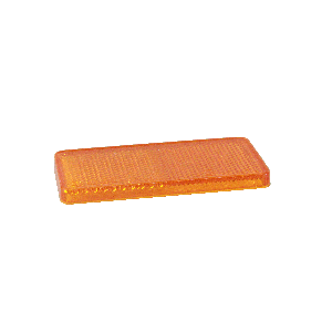 Reflector Oranje zelfklevend 90X40 mm plakreflector