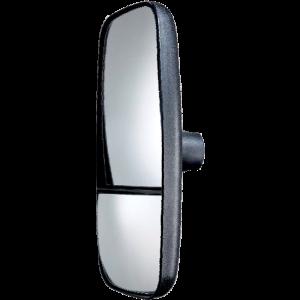 Spiegel uni. incl. dode hoek spiegel 384x184mm verwarmd