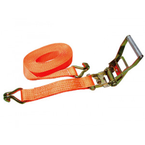Sjorband 4 ton-12m ratel/haak oranje