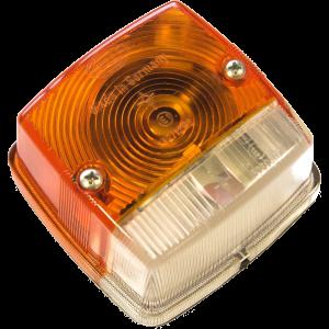 Markeringslamp voorzijde + RAW oranje/wit Hella