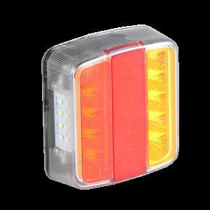 LED Achterlicht 12v Oranje/rood/rood