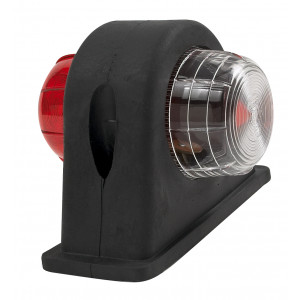 Markerings-breedtelamp LED rubber zijlamp kort