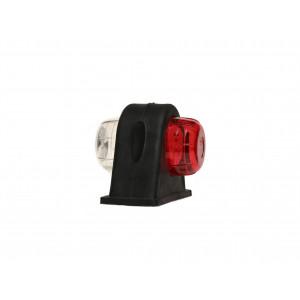 Markerings-breedtelamp LED rubber zijlamp kort