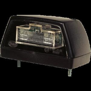 Kentekenverlichting LED zwart 12v