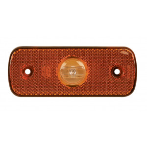 Markeringslamp LED oranje 12/24V 109x43mm