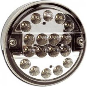 DSL3103/07 Mistachterlicht led 140mm 9-33v wit glas
