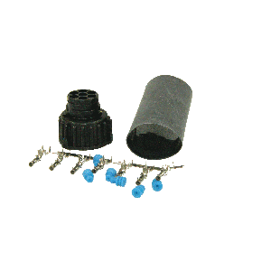 Aansluitplug 7-pin connector female amp