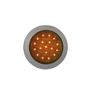 Interieurlamp LED oranje Ø 55mm 24v