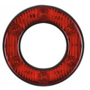 DSL3090 Achterlicht ring model 98mm 6led 24v(geen stop/raw)