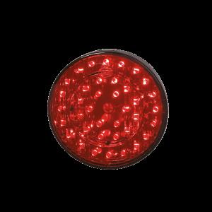 Achterlicht + mistlicht LED rond Ø 103mm 12v