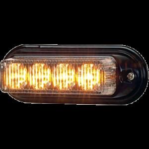 Stroboscoop 12v mini amber Xtreme