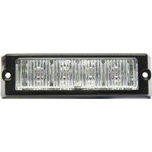 Stroboscoop 12/24v Amber 4 led